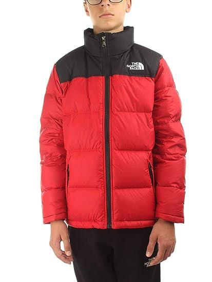 The North Face B Nuptse Down Jkt Tnf Red M (Kids)  Amazon.co.uk  Clothing e270aa947