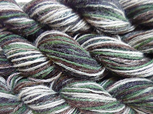 - FOUR Pack Camouflage Army Greens, browns multicolor Fingering Sock Knitting Crochet Yarn