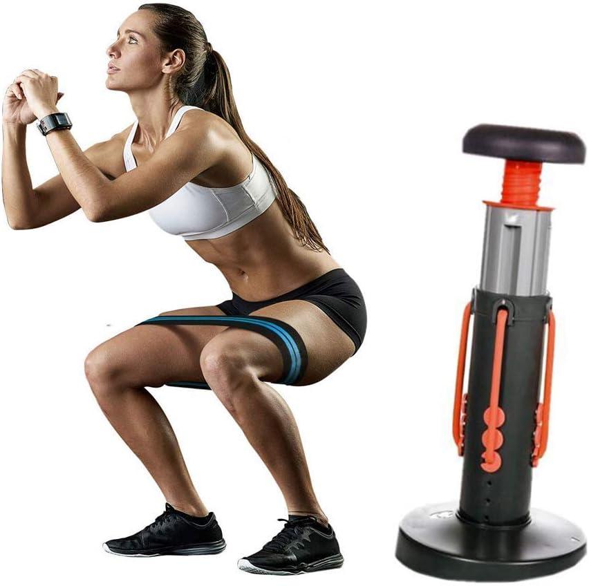 NBZH Squat Magic Home Gym Workout Squat Assistant, Máquina de Ejercicios de Ejercicios para la Parte Inferior del Cuerpo y Cuerpo Unisex, Entrenador de Cadera Músculo Abdominal Muslo