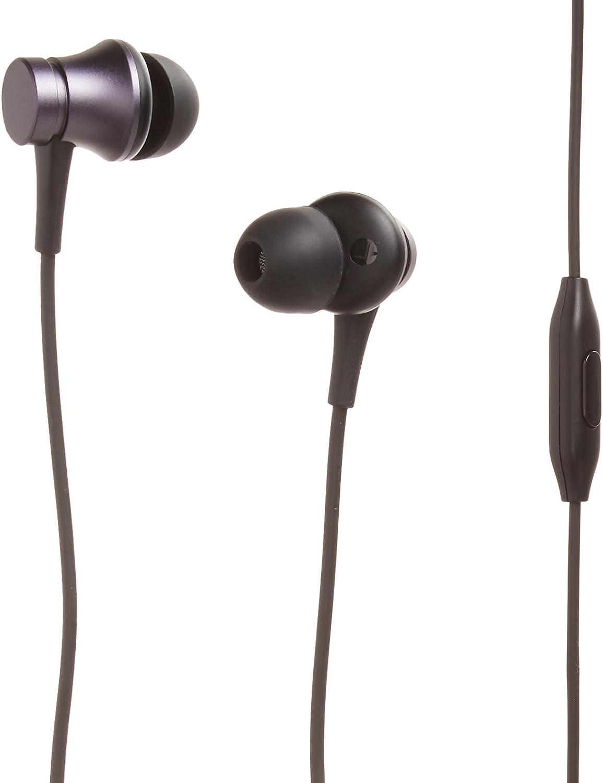 Amazon Com Xiaomi Mi Original Piston Headset Earphone Basic Version With Remote Mic Black