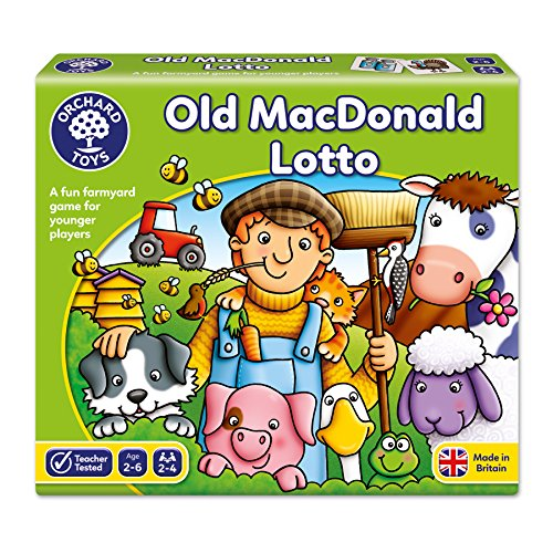 Old Macdonald Lotto Board - Old Hours Orchard