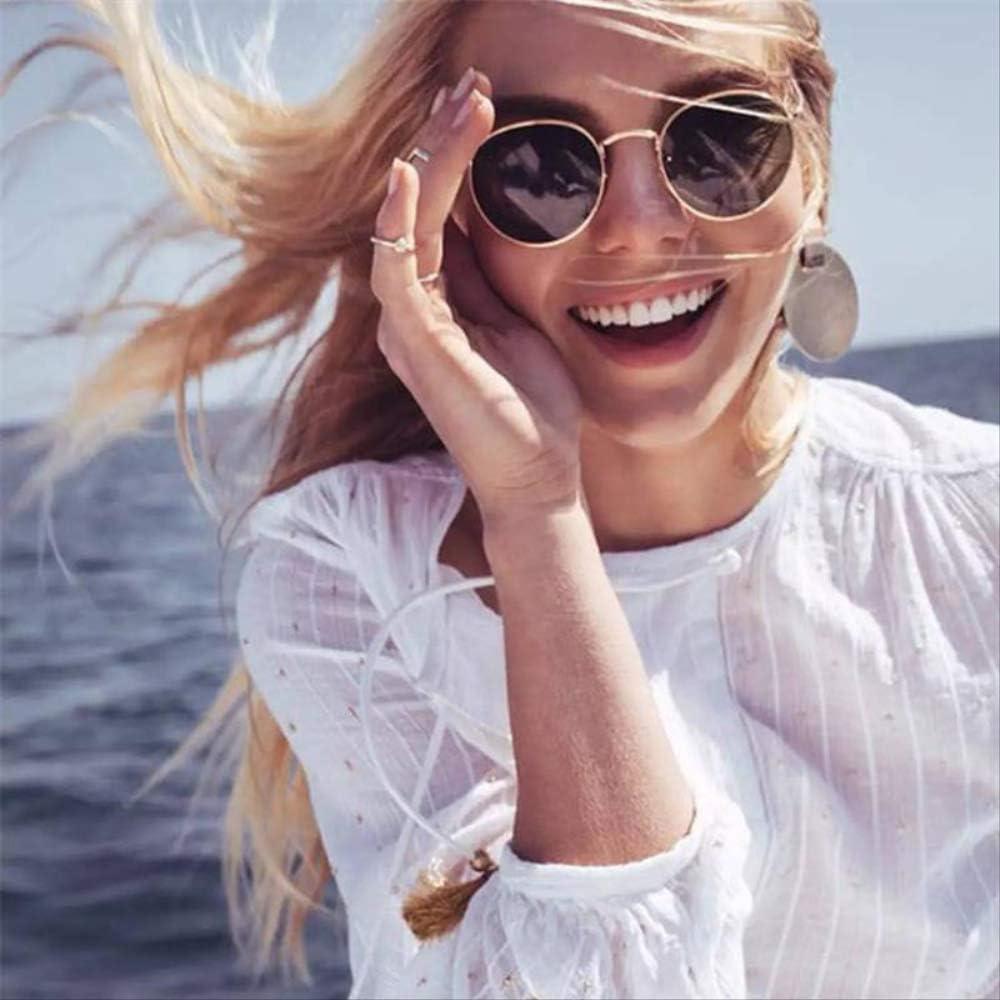 8bayfa Sunglassesic Lunettes de Soleil Rondes avec Petit