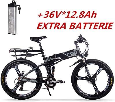 RICH BIT-ZDC Bicicletas de montaña eléctricas Bicicleta de montaña ...