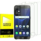 Samsung Galaxy S7 Clear Tempered Glass Screen Protector [Anti-Bubble][9H Hardness] Screen Protector Screen protector for Samsung Galaxy S7 3-Pack.