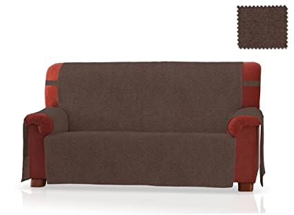 JM Textil Cubre sofá Pharma Tamaño 3 plazas (160 Cm.), Color Marrón
