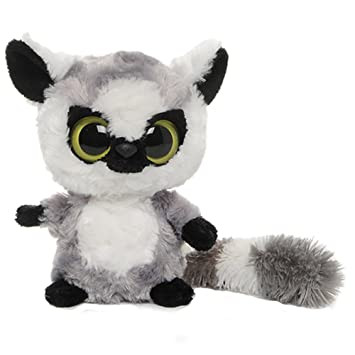 YooHoo & Friends - Peluche Lemur, 13 cm, color gris y blanco (Aurora