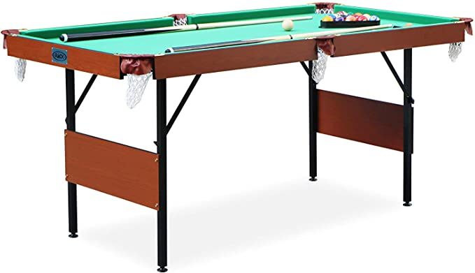 Rack Crucis Foldable Pool Table - Best Smooth Surface