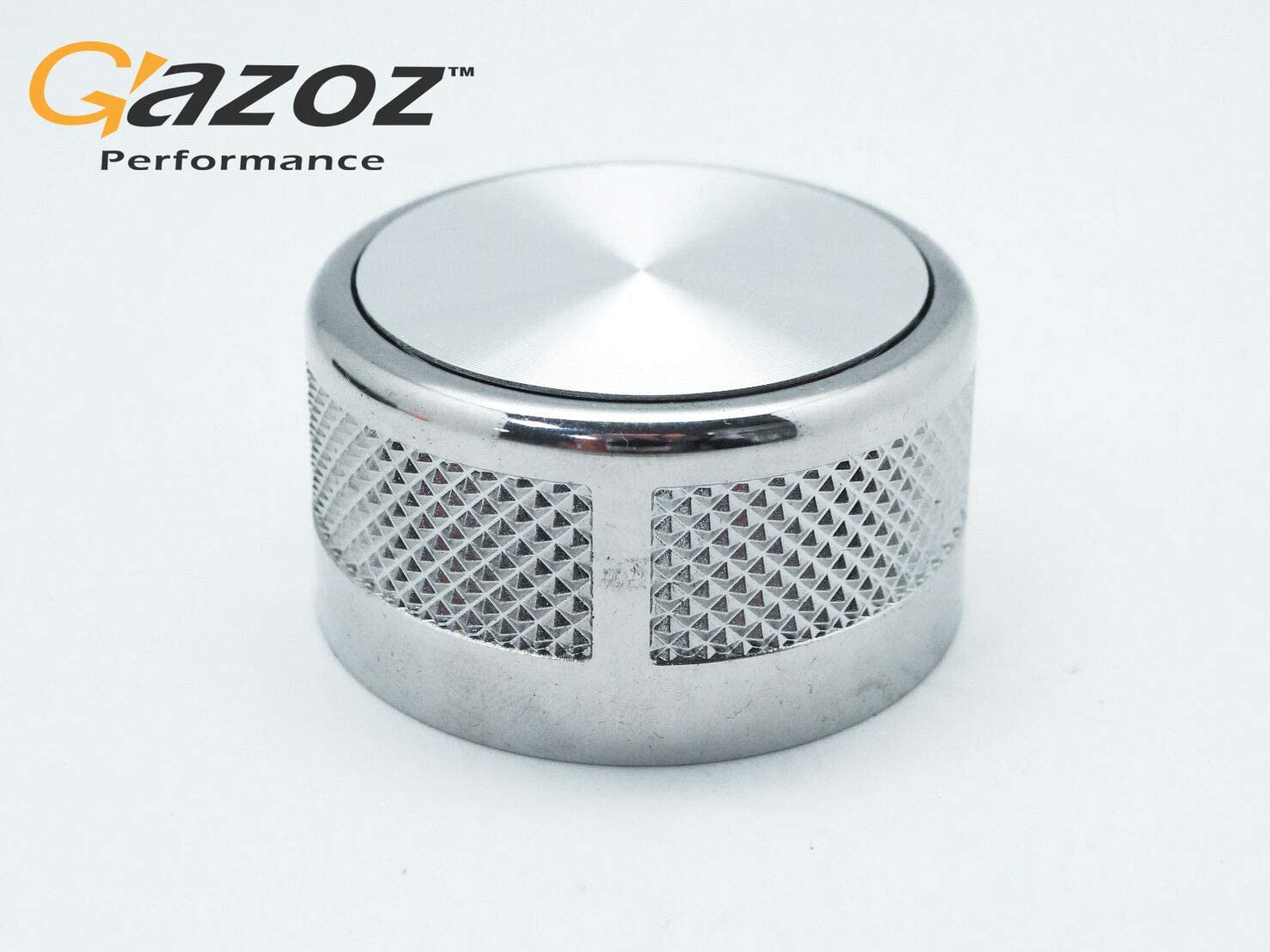 GAZOZ PERFORMANCE Autobiography Style Rotary Gear Shift Selector Knob Chrome for Range Rover L405 2011-2016