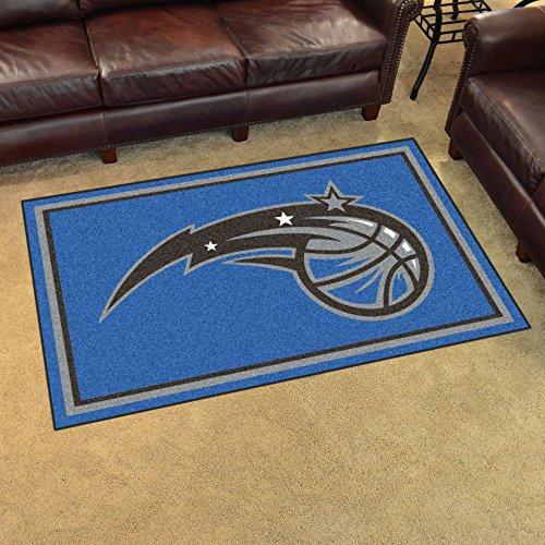 Fan Mats 20439 NBA - Orlando Magic 4' x 6' Area Rug (Rugs Area Okc)