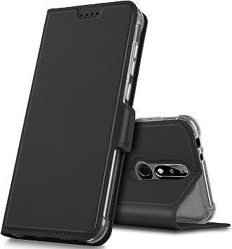 Geemai Funda Nokia X5/Nokia 5.1 Plus Funda, Multi-ángulo Slim ...
