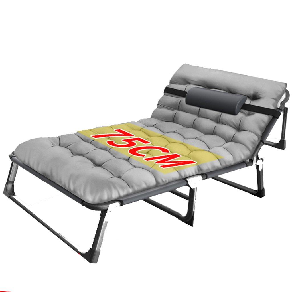 Extra Breiter Faltender Klubsessel Für Schwere Leute, Grauer Stuhl Für Reise Im Freien, 350kg