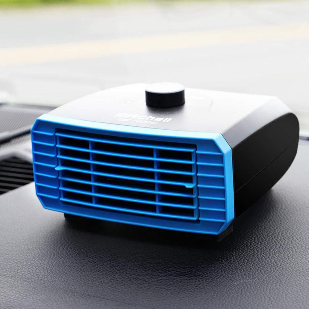 12V-24V Windschutzscheibe Defogger Defroster Katurn Tragbare Auto Heizung Auto Heizung Schnelle Heizung Defogger W/ärme L/üfter