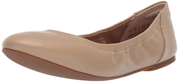 Amazon Essentials Women's Ballet Flat, Nude, 10 B US