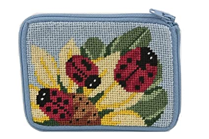 Coin Purse - Ladybug - Needlepoint Kit