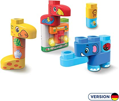 Vtech- BlaBlaBlocks-Tierset Juego de construcción de bloques, Multicolor (80-604604) , color/modelo surtido: Amazon.es: Juguetes y juegos