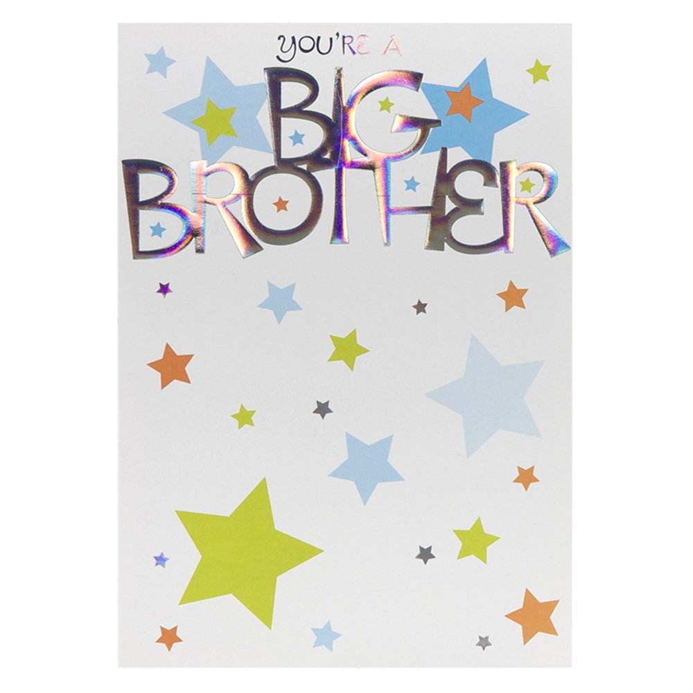 New baby greeting cards image collections greeting card examples amazon youre a big brother new baby greetings cards home amazon youre a big brother new kristyandbryce Image collections