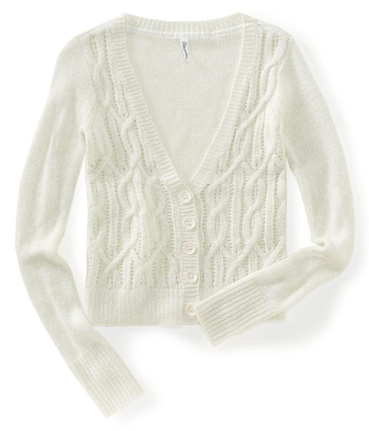 Aeropostale Womens Knit Cardigan Sweater