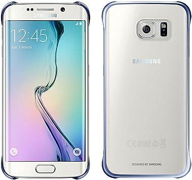 Samsung Clear - Funda oficial para Samsung Galaxy S6 Edge, color ...