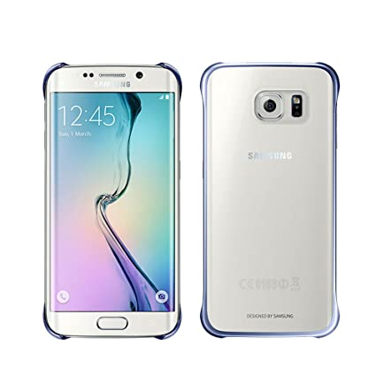 buy online b4ad2 44966 Samsung Galaxy S6 Clear Protective Cover - Dark Blue