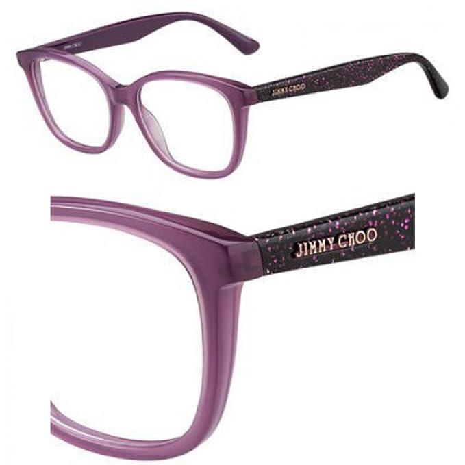 Jimmy Choo JC188 FN1 52 Gafas de Sol, Azul (Glitter Cyclamen ...