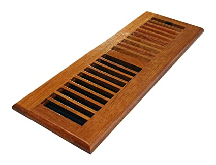 Decor grates wlc414 n 4 inch by 14 inch wood floor register natural decor grates wlc414 n 4 inch by 14 inch wood floor register ppazfo