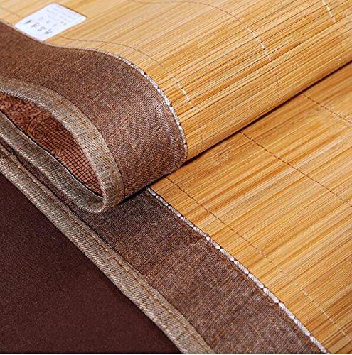 Sommerbettmatte Karbonisierte Karbonisierte Karbonisierte Druckmatten volle grüne Bambusmatten doppelseitige Faltbare Rattanmatten verkohlter Druck dreiteiliger Satz 1.8  2.0m (Farbe   3 Pieces of Sets, größe   1.5  2.0m) 548c4e
