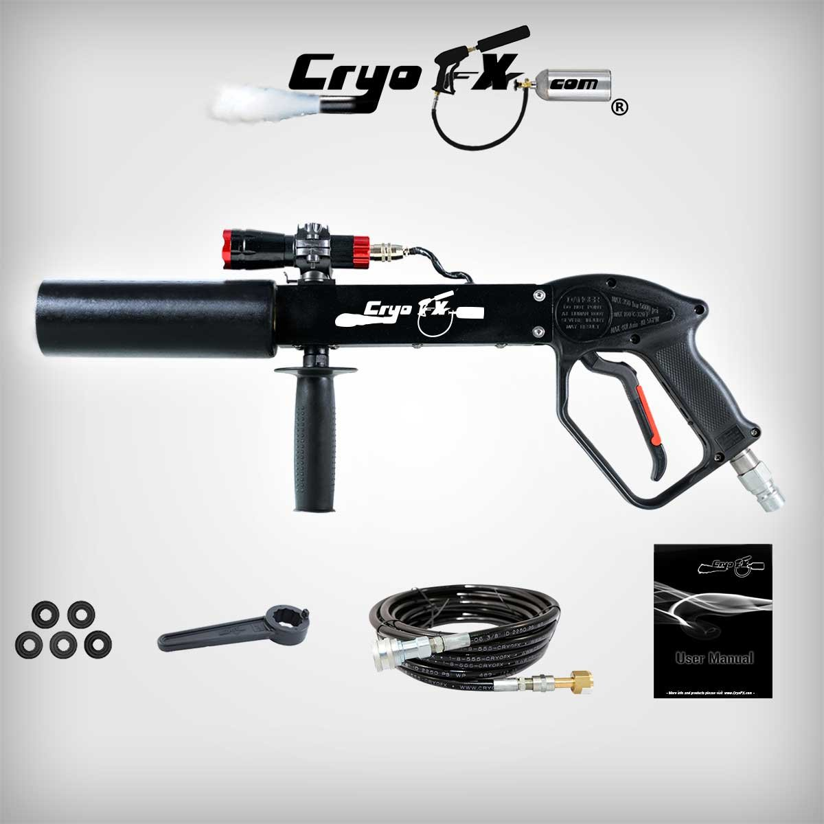 CryoFX Cryo Blaster - Handheld CO2 Blaster Co2 Jet Special Effects CO2 Bazooka Cannon
