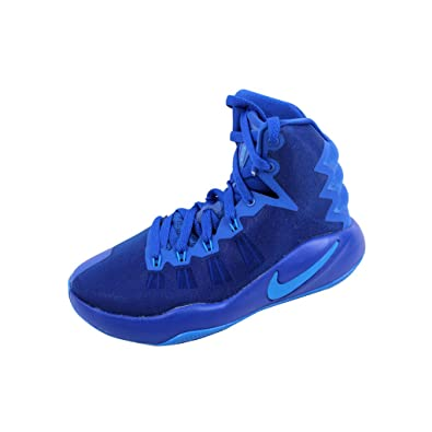 b0366af0e8b Nike Grade-School Hyperdunk 2016 Game Royal Photo Blue-Black 845120-440
