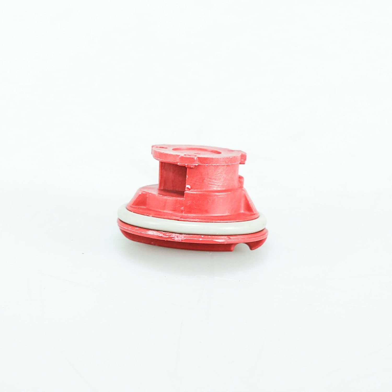 Whirlpool W10864394 Dishwasher Rinse-Aid Dispenser Cap Original Equipment (OEM) Part Elite, Kenmore Pro, Red