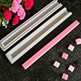 Echodo Square Tube Column Silicone Soap Candle Mold Embed Soap Making Supplies Silicone Mold for Soap