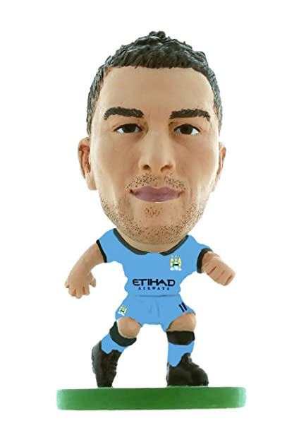68dfeefe1 Image Unavailable. Image not available for. Color  Soccer Starz - Man City  Aleksandar Kolarov - Home Kit (2015 Version)   Figures