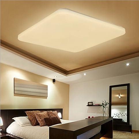 SAILUN 48W Warmweiß Deckenleuchte Quadra Ultraslim LED Deckenlampe ...