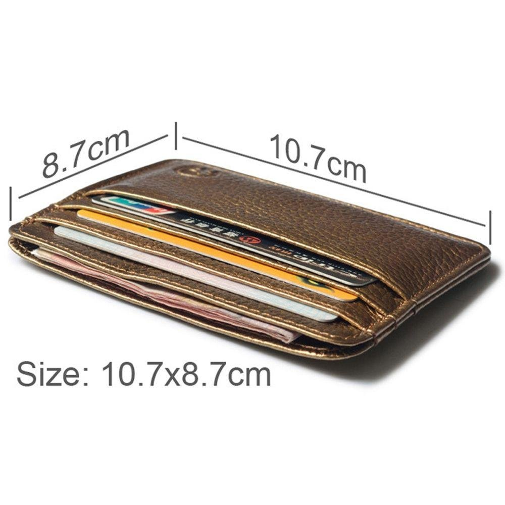 Amapower Mens Bag Handbag Leather Coin Purses Wallets Card Holder
