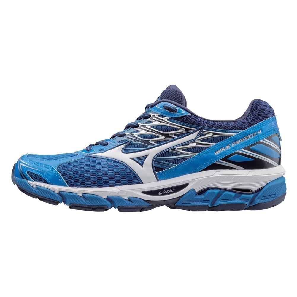 Mizuno Men's Wave Paradox 4 Shoes Imperial Blue / White / Peacoat 10.5 & Visor