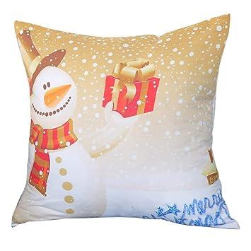 Amazon.com: Funda de almohada de Navidad con diseño de ...