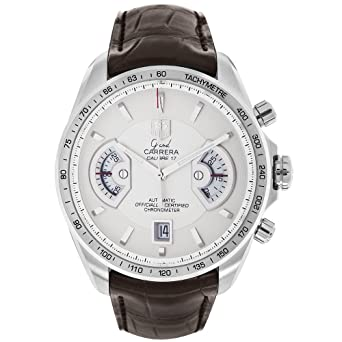 4fbd9f055f62 Image Unavailable. Image not available for. Color  TAG Heuer Men s  CAV511B.FC6231 Grand Carrera Chronograph Calibre 17 RS Watch
