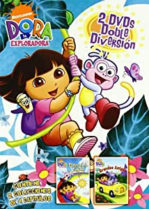 Pack Dora la exploradora : Arcoiris tímido + grandes amigos [DVD]