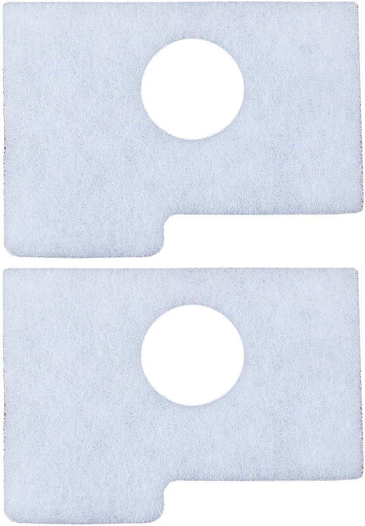 Haishine 2 x Filtros de Aire para STIHL MS180 MS170 017 018 MS 170 MS 180 Repuestos de Motosierra 1130 124 0800