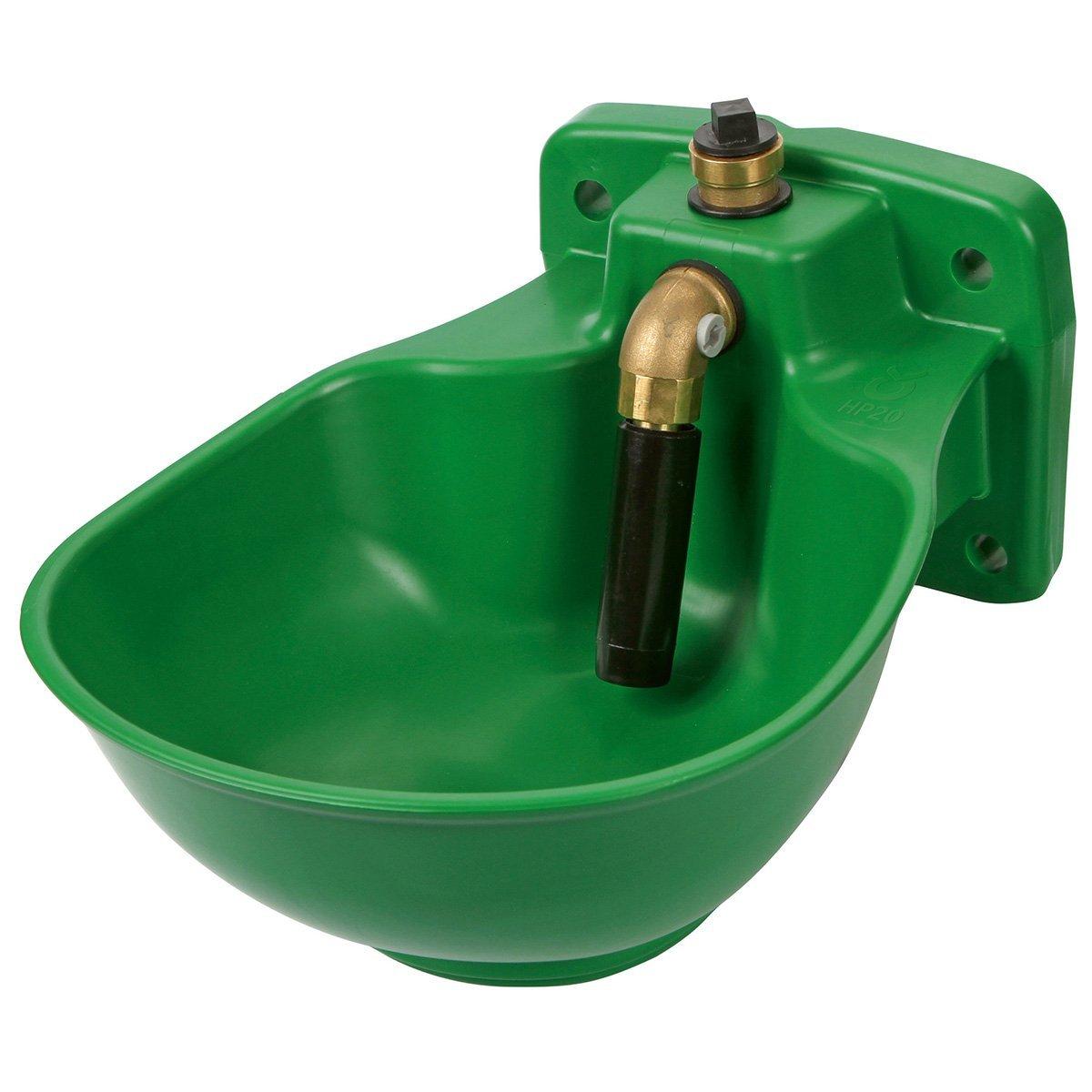 Kerbl heizbares en plastique abreuvoir avec robinet HP20, 230V
