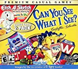 Can You See What I See & Bonus Etch-A-Sketch Classic Drawing Toy 2 PC Game Pack