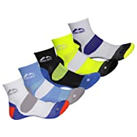 More Mile Mens Limited Edition London Cushioned Running Socks (5 Pair Pack)