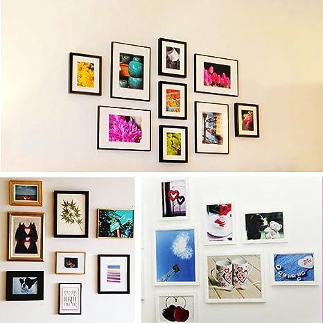 Kit de 200 piezas para colgar cuadros, kit resistente para colgar cuadros con clavos para colgar en la imagen, kit de montaje en pared: Amazon.es: Bricolaje ...