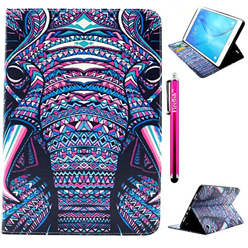 Tab A 9.7 Case, Firefish Wallet Case with Card Slots Great Quality PU Leather Kickstand Feature Flip Cover Folio...
