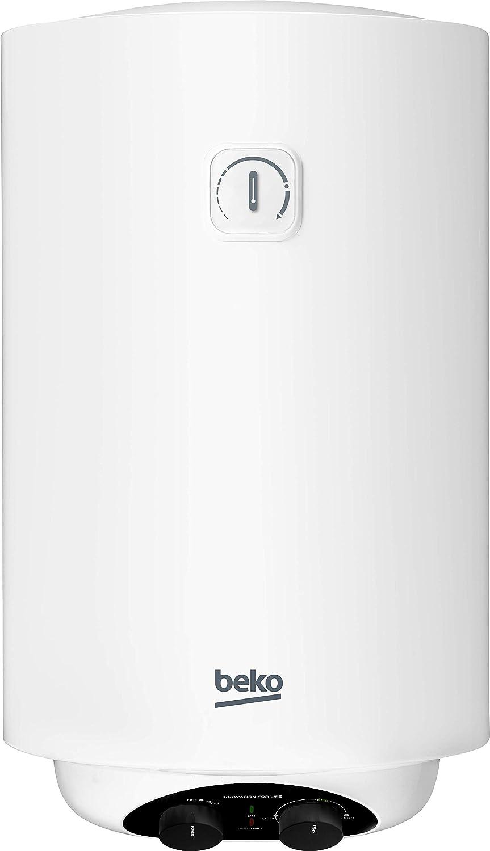 100 litros color blanco 2000 W Beko BWH100EUC Termo el/éctrico // calentador