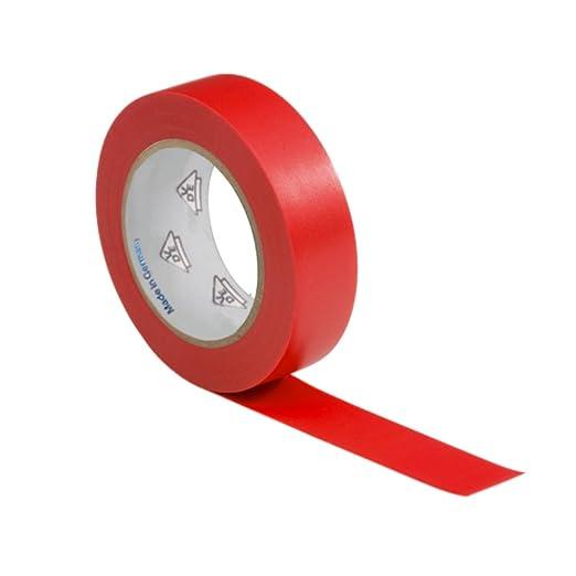 2 opinioni per 1 rotolo VDE Nastro Isolante Elettrico PVC Nastro Adesivo 15mm x 10m DIN EN