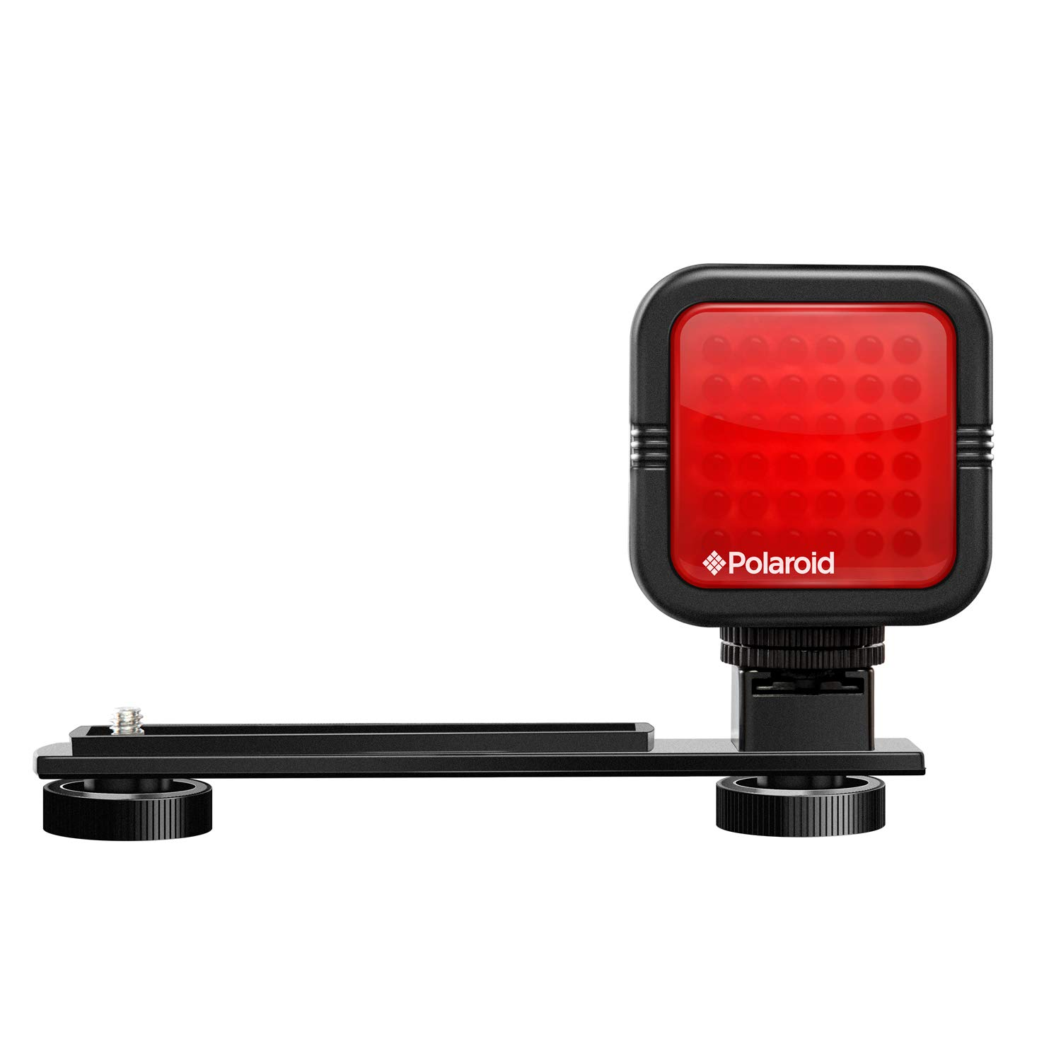 Polaroid Studio Series IR Light Bar -Rechargeable 36 IR LED Light for Use w/ All IR Compatible Cameras & Camcorders - Includes Diffuser Lens, Built-In Li-Ion Battery, Charger & Hot Shoe Mount by Polaroid