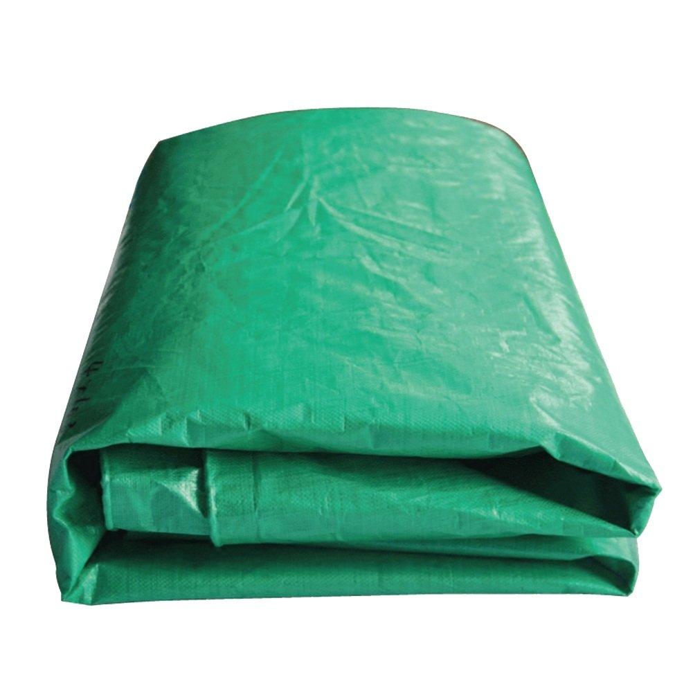 AJZXHE La bÂche Verte, Prougeection Solaire imperméable de Cargaison de Camion dépose l'absorption de Chaleur de l'isolation de la poussière de Tissu Anti-corrosif -Tente Vert 5x7M