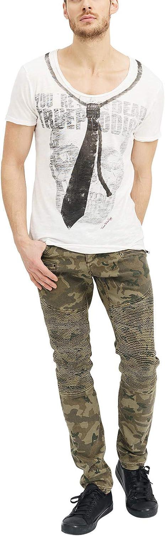 trueprodigy Casual Homme Tee Shirt Motif imprim/é t-Shirt Mode Fashion Vetements Swag Marque col Rond Manche Courte /& Slim fit Classic