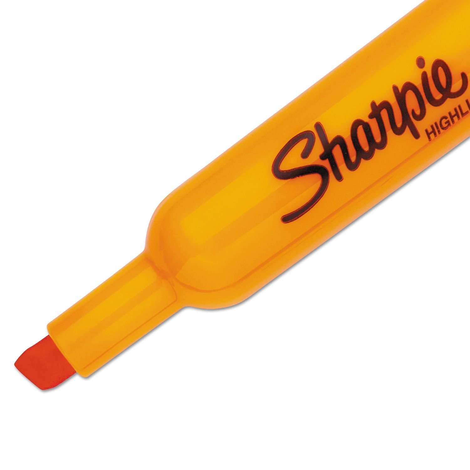 Sharpie Accent Tank Highlighters, Chisel Tip, Fluorescent Orange, 36-Count by SHARPIE