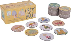 YOGi FUN Crazy Zoo Speed Yoga Game for The Whole Family